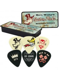 Dunlop médiators Rev Willy's Mexican Lottery RWT03H heavy