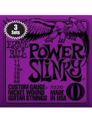 Ernie Ball Slinky pack 3 jeux 3220 power