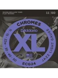 D'Addario ECG24 tension jazz light