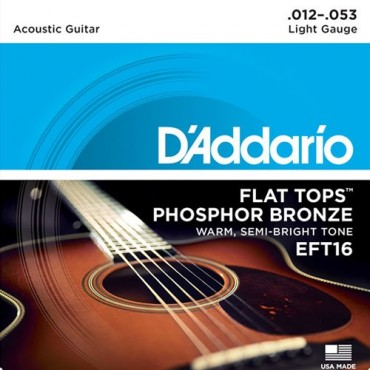D'Addario EFT16 tension light