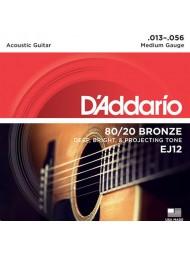 D'Addario EJ12 tension medium