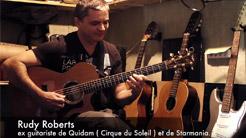 guitariste Rudy Roberts